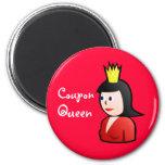 Imán de la reina de la cupón