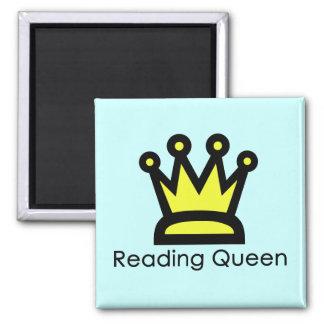 Imán de la reina de la lectura