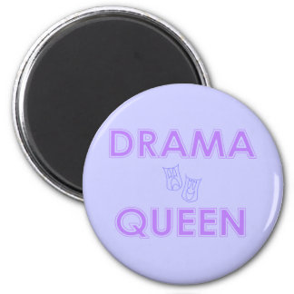 Imán de la reina del drama