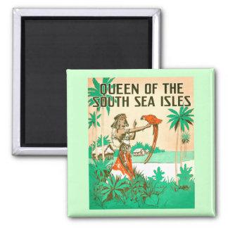 Imán de la reina del mar del sur