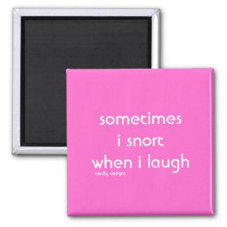imán de la risa del snort