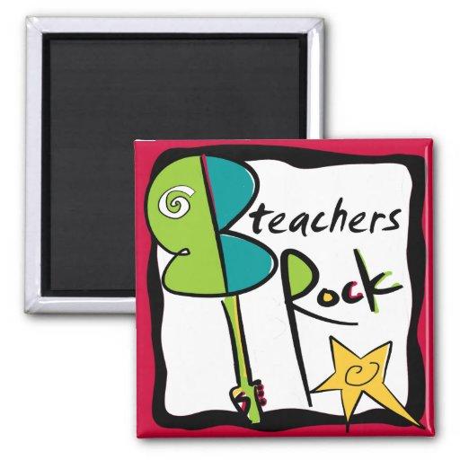 Imán de la roca de los profesores