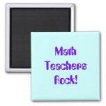 Imán de la roca de los profesores de matemáticas