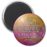 Imán de la sabiduría del valor de la serenidad