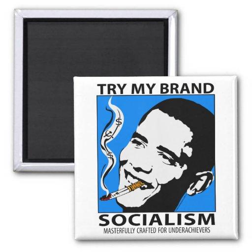 Imán de la sátira de la política de Barack Obama