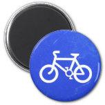 Imán de la señal de tráfico de bicicleta