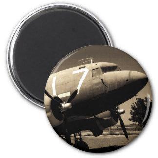 Imán de la sepia del C-47
