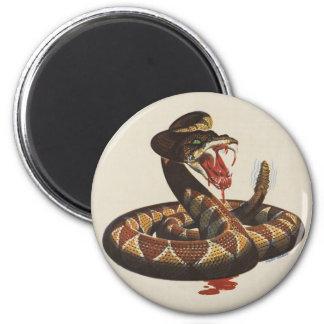 Imán de la serpiente de cascabel