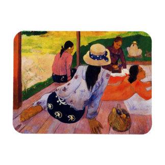 Imán de la siesta de Gauguin
