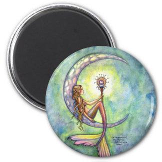 Imán de la sirena, luna de la sirena por Molly Har