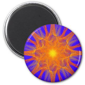 Imán de la supernova del fractal