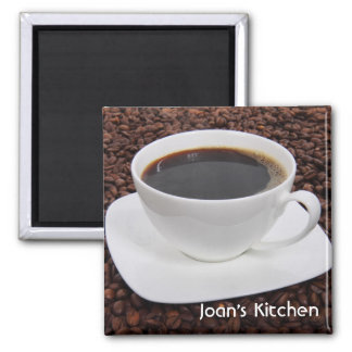 Imán de la taza del grano de café
