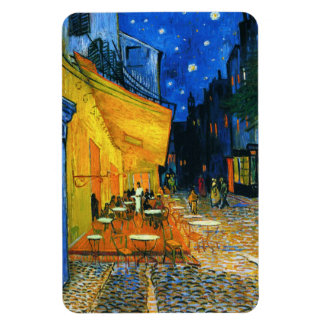 Imán de la terraza de Van Gogh Café