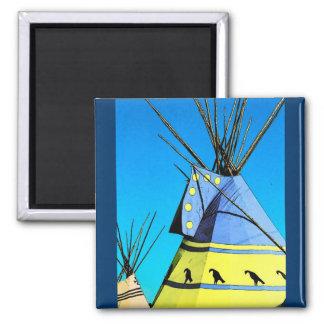 Imán de la tienda de los indios norteamericanos