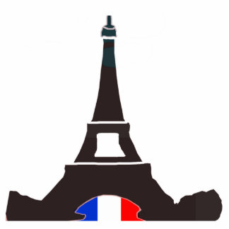 Imán de la torre Eiffel Imán Fotoescultura