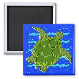Imán de la tortuga de mar