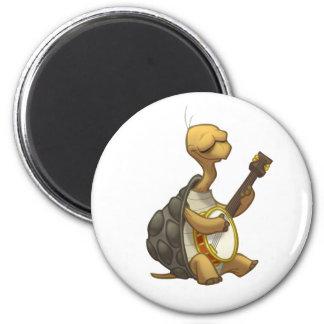 Imán de la tortuga del Banjo-Strummin'