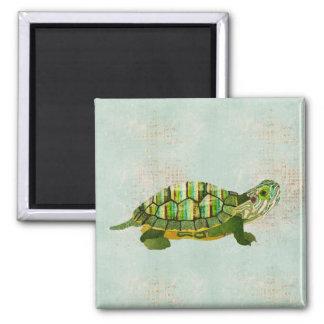 Imán de la tortuga del jade