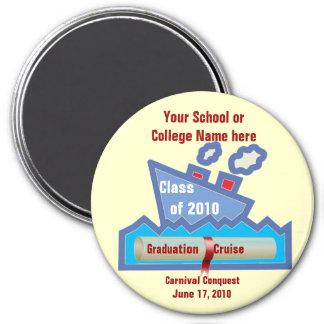 Imán de la travesía de la graduación - GRANDE