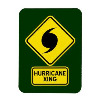 Imán de la travesía del huracán