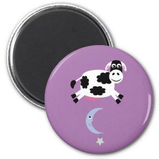 Imán de la vaca y de la luna