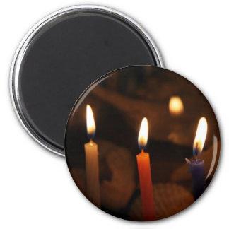 Imán de la vela