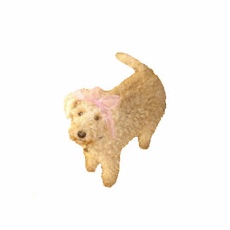 Imán de Lakeland Terrier Escultura Fotográfica