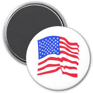 Imán de las barras y estrellas de la bandera ameri