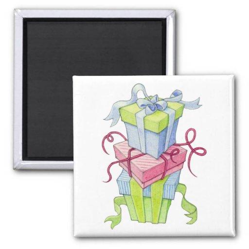 Imán de las cajas de regalo