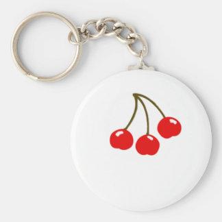 Imán de las cerezas el | llavero redondo tipo pin