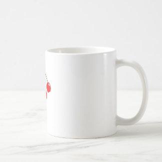 Imán de las cerezas el | taza de café