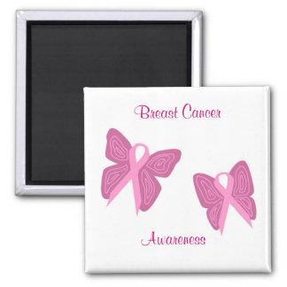 Imán de las cintas de la mariposa del cáncer de pe