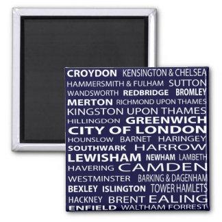 Imán de las ciudades de Londres
