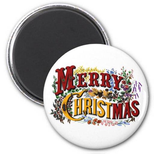 Imán de las Felices Navidad