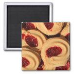 Imán de las galletas de torta dulce de la fresa