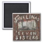 Imán de las hermanas de Javelinas siete