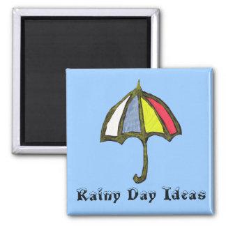 Imán de las ideas del día lluvioso