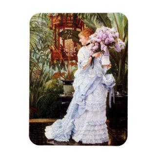 Imán de las lilas de James Tissot