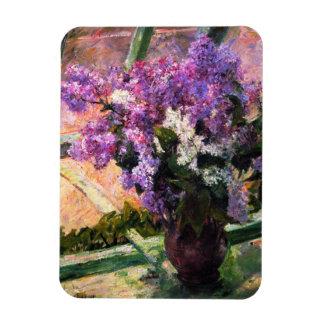 Imán de las lilas de Mary Cassatt