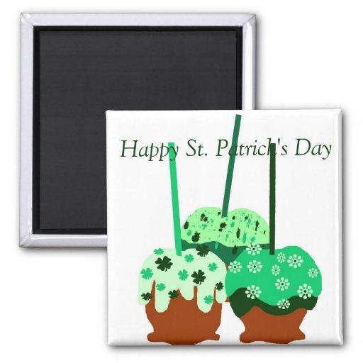 Imán de las manzanas del día de St Patrick