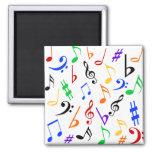 Imán de las notas musicales - multi