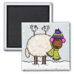 imán de las ovejas del invierno