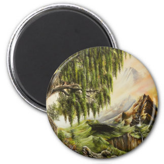 Imán de las pinturas al óleo de Eden
