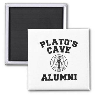 Imán de los alumnos de la cueva de Platón