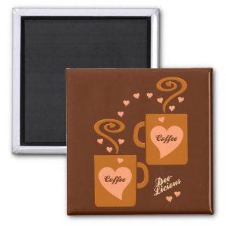 Imán de los amantes del café, personalizar imanes