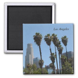 ¡Imán de Los Ángeles! Imán Cuadrado