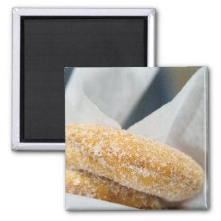 Imán de los anillos de espuma de la torta del azúc