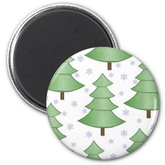 Imán de los árboles de navidad