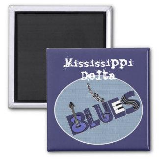 Imán de los azules del delta de Mississippi