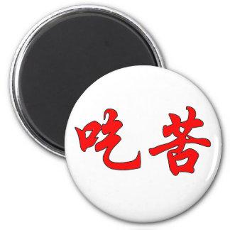 Imán de los caracteres chinos
